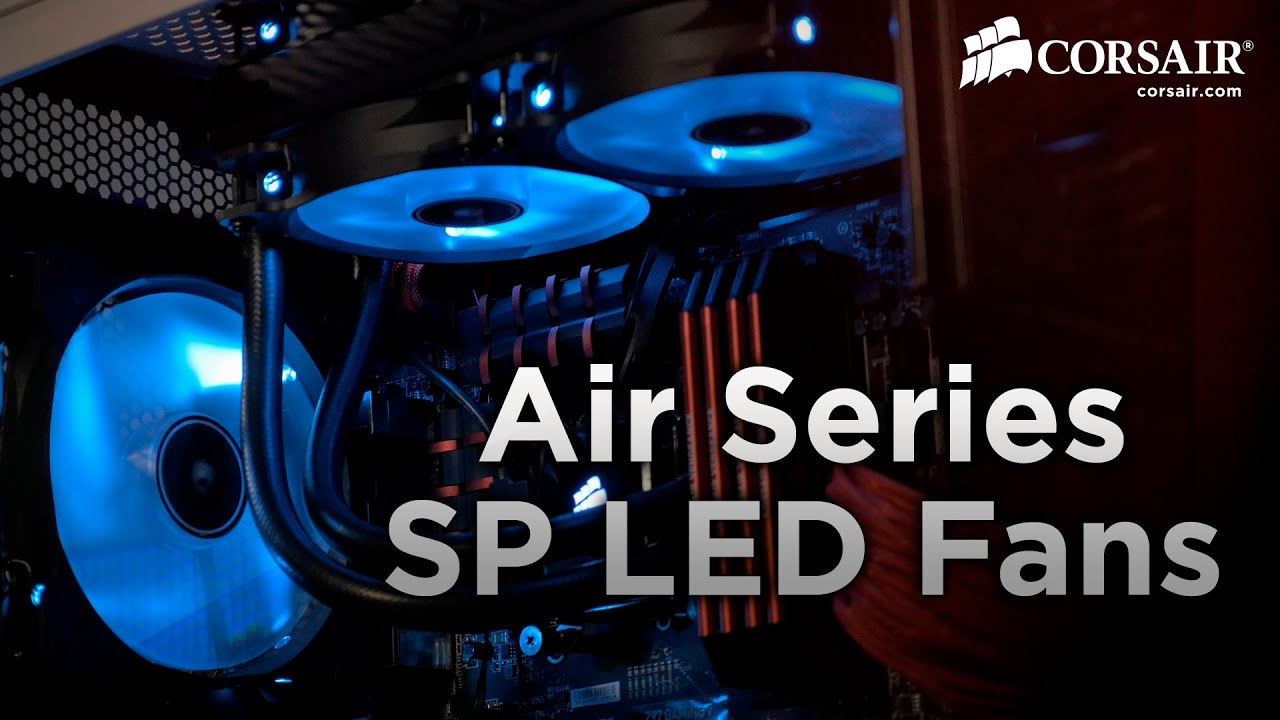 Air Series High Static Pressure Led Fans Intro Youtube