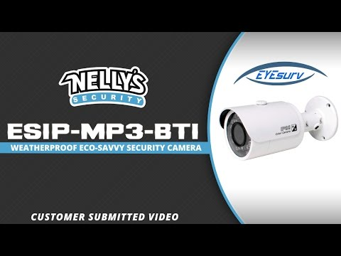 ESIP-MP3-BT1 Day / Night Shot :: Customer Submitted Video