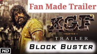 KGF ಕೆ ಜಿ ಎಫ್  Exclusive Teaser Rocking star Yash , Prashanth neel  Highest ever Fan Made tsr Views