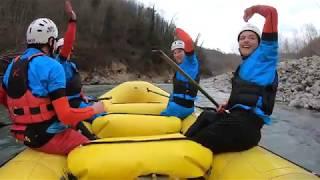 Coppa Italia Rafting - fiume Vara (Brugnato)