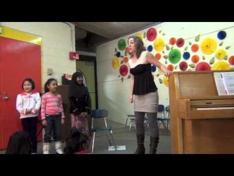 Surround Sound: Experiential Education project by composer and mezzo-soprano Kaley Lane Eaton