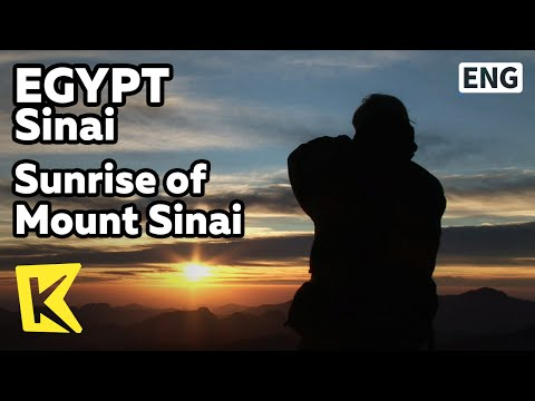 【K】Egypt Travel-Sinai[이집트 여행-시나이]시나이 산의 일출/Sunrise of Mount Sinai/Scenery/Summit/Top