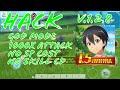 Sword Art Online Intergal Factor Hack/Mod V.1.2.5   God Mode,Attack Multiplier,No SP Cost   NO ROOT