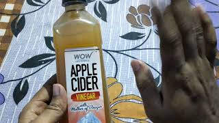 Apple Cider Vinegar unboxing from Amazon