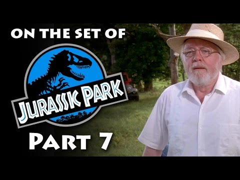 Where Richard Attenborough welcomed guests to Jurassic Park - On the set of Jurassic Park part 7