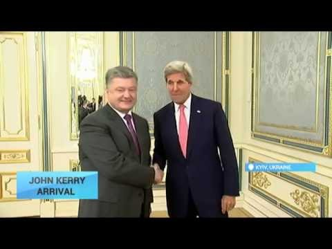 John Kerry Arrives in Kyiv: US State Secretary meets Ukraine's top officials