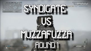 The USURPER Challenge - Syndicate VS MuzzaFuzza  - Round 1! (Call Of Duty Ghosts)