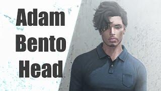 Absolut Creation Adam Bento Mesh Head in Second Life
