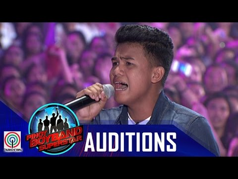 "Pinoy Boyband Superstar Judges' Auditions:  Jead Ramirez – ""Na sa'yo na ang lahat"""