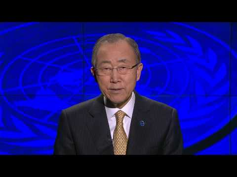 Message from Secretary General Ban Ki -moon at the UN Day 2014