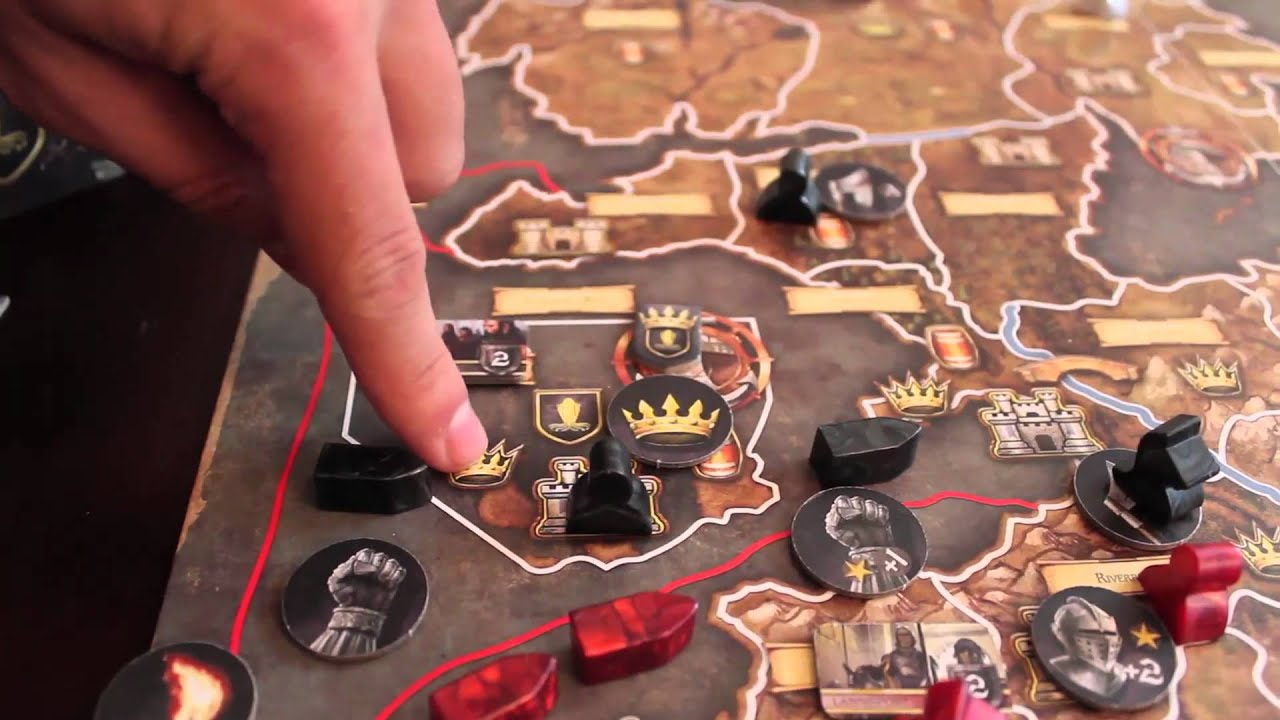 Board Game Ships Game of Thrones The Board