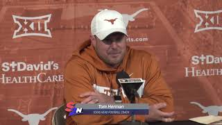 Longhorn Football: A Year Makes A Difference