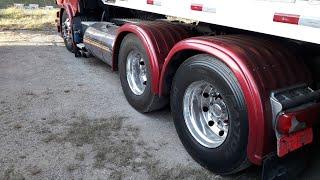 Cegonheiro mostra cegonha Saider fechada para transporte de veículos importados