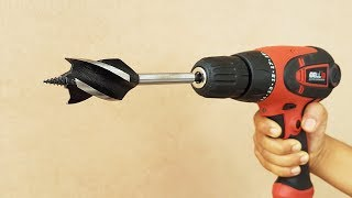 10 Awesome & Useful Drill Bits !!!