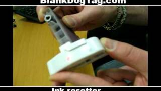 How to reset a epson ink cartridge epson c88 c 88+ chip resetter 00:42