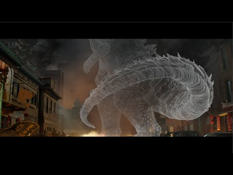 Animating Godzilla at MPC using Autodesk Maya