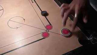 Tricky Carrom shots for beginners |Hand shots| by Aditya Padawe