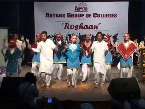 Roshaan 2013  Aryans Group of Colleges (Bhumro Bhumro)