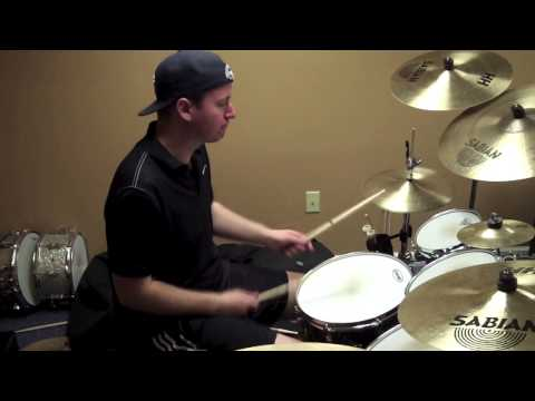 The Gaslight Anthem - Here Comes My Man (live drum cover) Kyle Davis PianoManKD 2013
