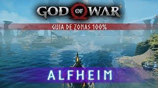 God of War Guia de Zonas 100% - Alfheim