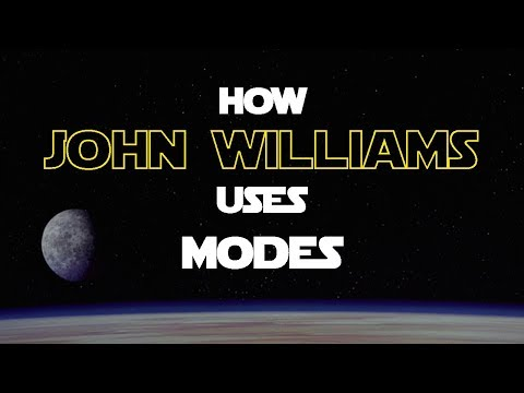 How John Williams uses Modes