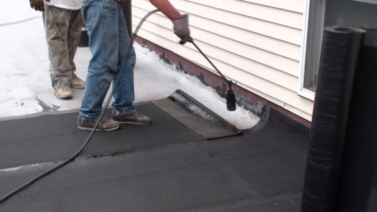 Firestone App Modified Bitumen Roofing System Youtube