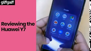 Huawei Y7 | Phone Review | giffgaff