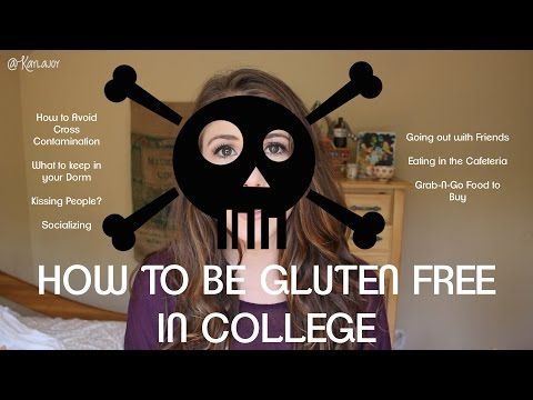 How To Survive College with Celiac Disease | Gluten Free in  School