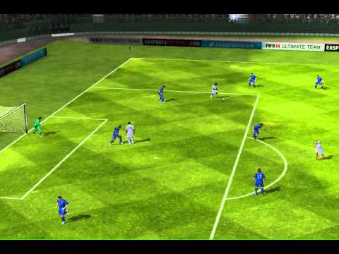FIFA 14 iPhone/iPad - Real Mexico vs. Cardiff City