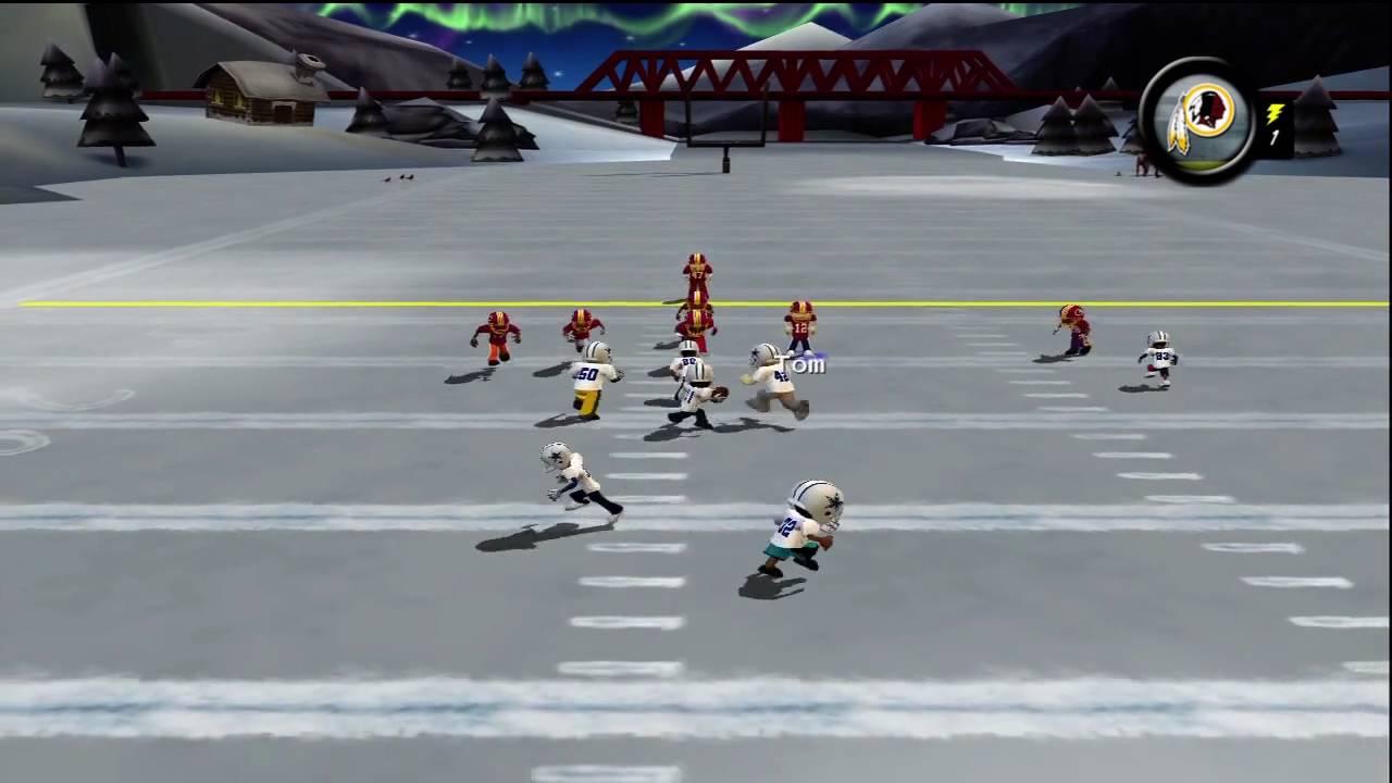 backyard football 39 10 xbox 360 hd gameplay washington redskins vs