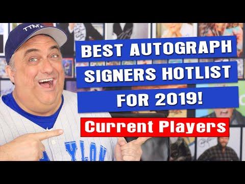 Best Baseball TTM Signers For 2019