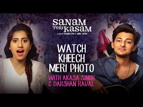 Darshan And Akasa Sing Kheech Meri Photo | Sanam Teri Kasam