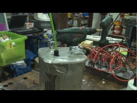 200 Amp HHO Generator to welding Torch - Welding with water