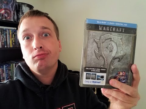 Warcraft STEELBOOK Bluray- Wal-Mart Exclusive streaming vf