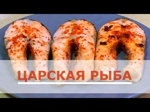 Очень вкусный лосось в духовке
