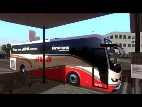 Game | ADO modbusmx volvo9700 euro truck simulator 2 1.3.1 1.6.x | ADO modbusmx volvo9700 euro truck simulator 2 1.3.1 1.6.x