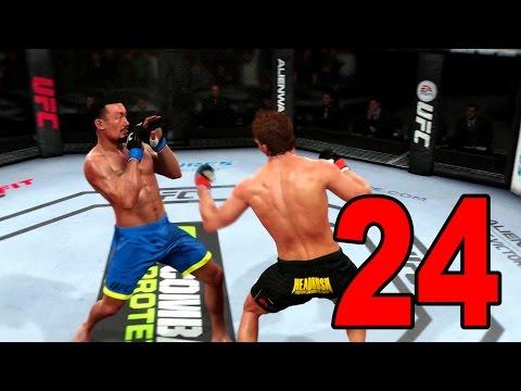 UFC 14 Career Mode - Part 24 - Chuck Liddell Vlog (EA Sports UFC 2014 Gameplay)