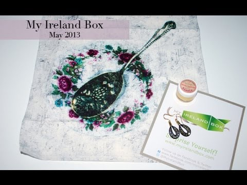 My Ireland Box Unboxing - May 2013