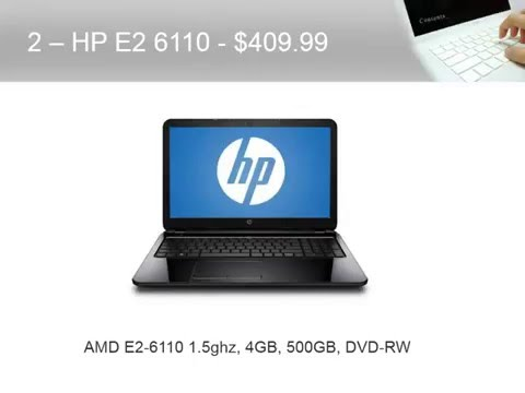 Best Budget Laptops for 2015 - College Business or Personal