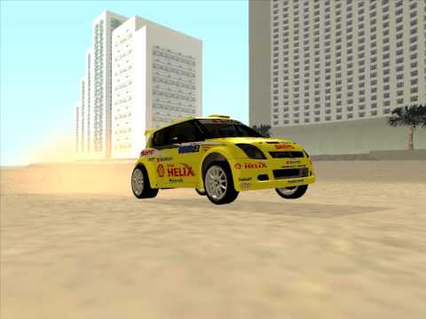 Suzuki Rally Car