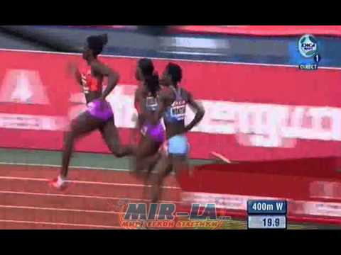MONTSHO Amantle 49.77 - 400m Diamond League 2012 Paris - MIR-La.com
