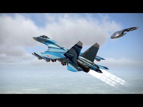 Минобороны в шоке! НЛО пришельцев атаковал российский истребитель