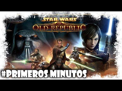 Star Wars: Old Republic SWTOR Gameplay Español | Primeros Minutos | MMO Free to Play