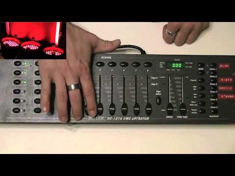 Learn to program and use  DMX 101 part 4