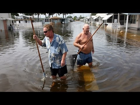 Tropical Storm Debby Continues To Pound Florida