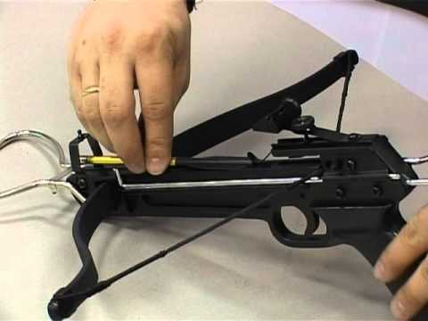 Как сделать пистолетный арбалет