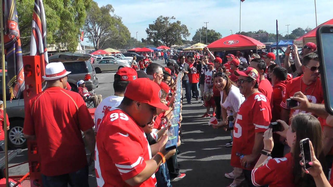 Extreme tailgating 49ers