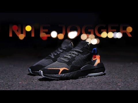 Распаковываем свежий релиз adidas Nite Jogger и кнопку YouTube 100K 💥