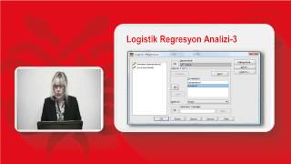 19  Logistik Regresyon Testi