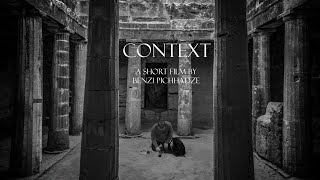 Context  - One man crew short film by Benzi Pichhadze
